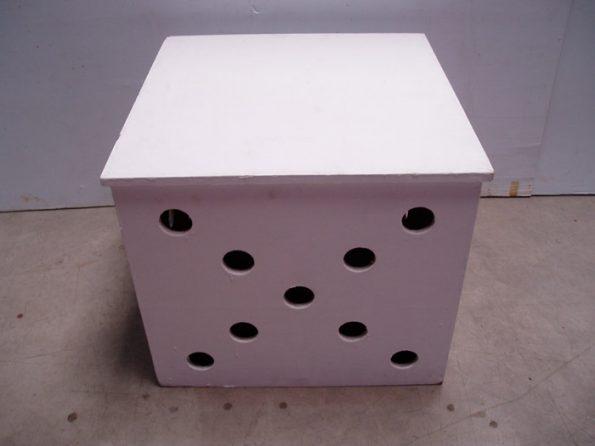 Side Table W/ Hole-0