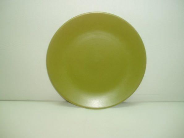 Olive Green Dinner Plate-0