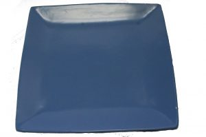 Square Perriblue Dinner Plate-0