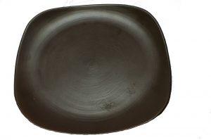 Chocolate Brown Plates
