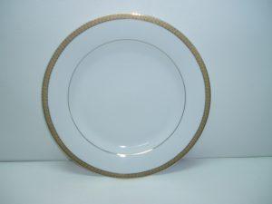 Luxor Gold Rim Dinner Plate-0