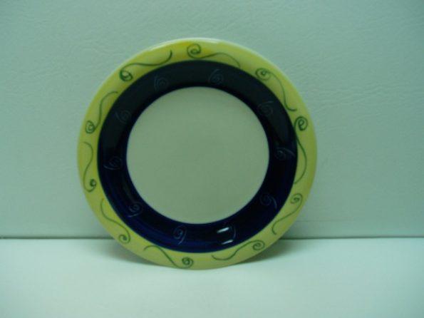Blue & Yellow Cake Plate-0