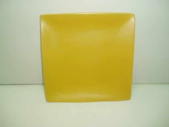 Sq Yellow Cake Plate-0