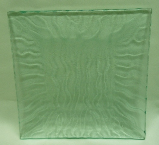 Clear - w/ Wave - Square Plate-0