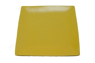 Square - Yellow Plate-0