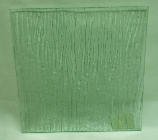 Clear W/Stripe Plate-0