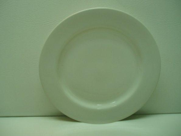 White Plain White Plate-0