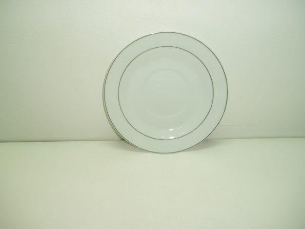 Silver Rim Plate-0
