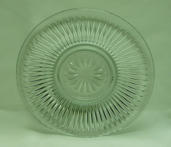 Clear cake Plate-0