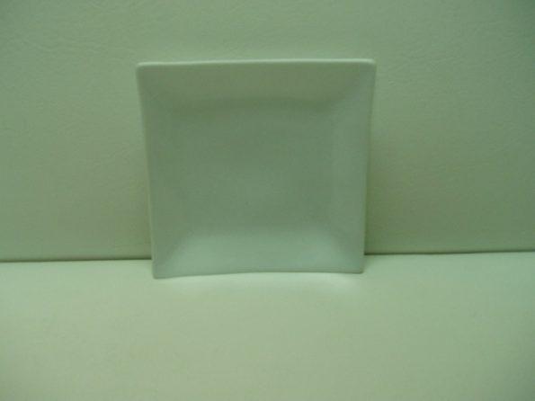 Square White Plate -0