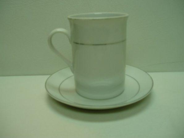 Silver Rim Soup Mug-0