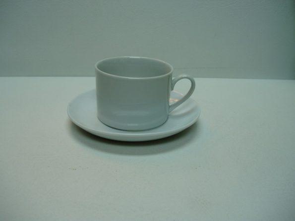 Ceramic White Round-0