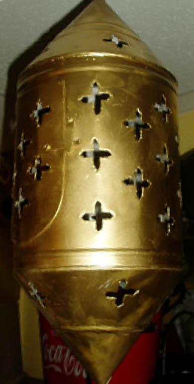 Moroccan Metal Hanging Lantern-0