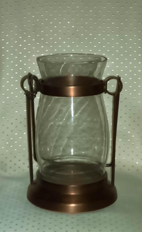 Copper Hurricane Shade Lantern-0