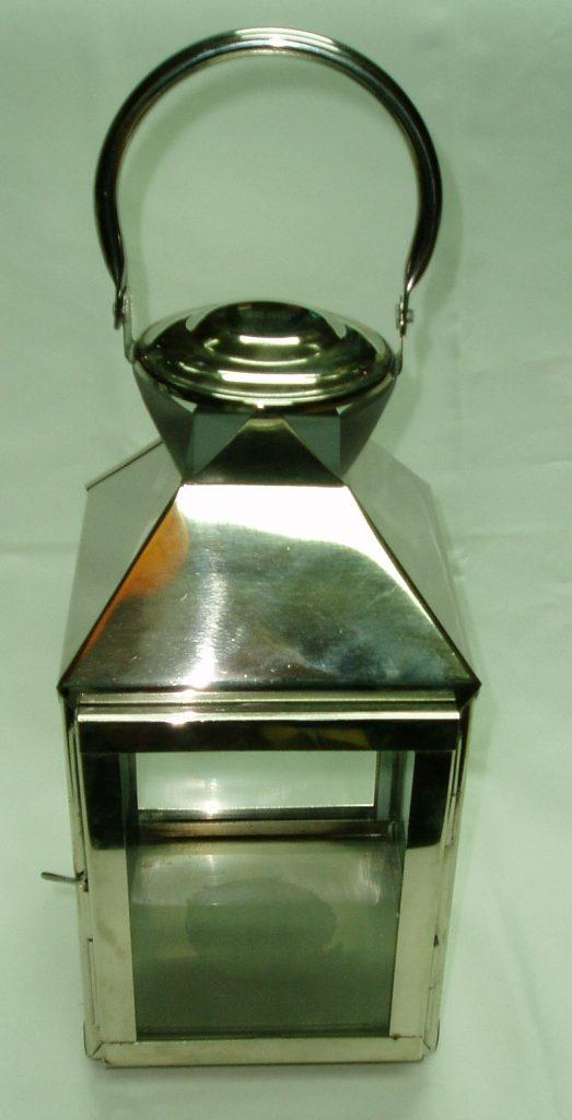 Silver Hanging Lantern-0