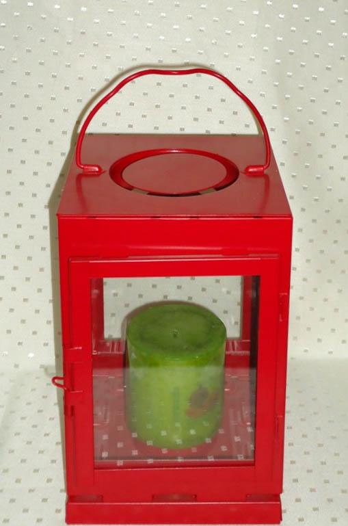 Ikea Red Lantern (Large)-0