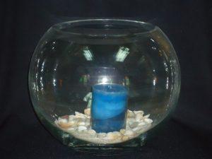 Fish Bowl Candle Holder (Extra Large)-0