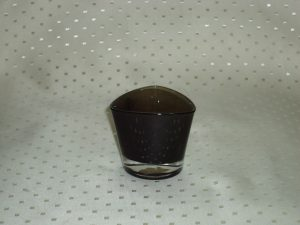 Ikea Square Black Candle Holder-0