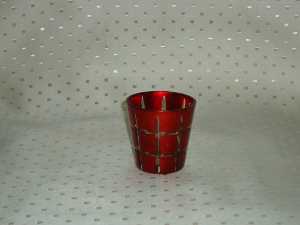 Voltive Red Candle Holder With Box-0