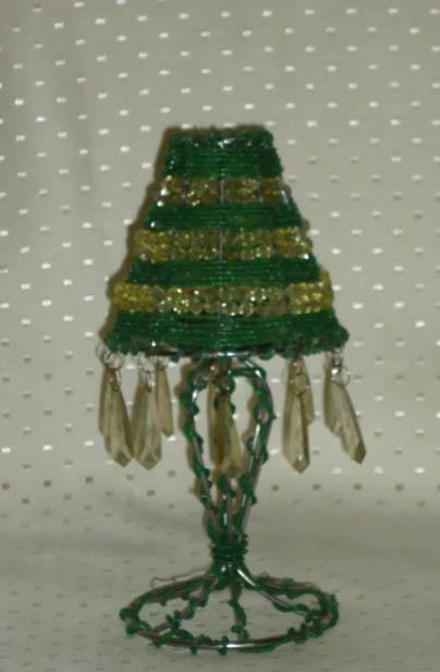 Umbrella Shades Of Green Candle Holder (small)-0