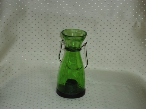 5' by 8' Hanging Bottle Green Candle Holder (Small)-0