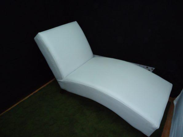 White Curve Lounge Sofa-0