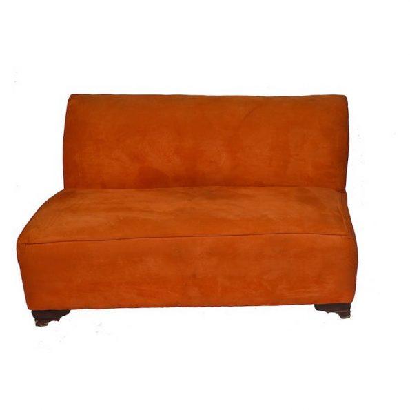 Burnt Orange 3 Seater Sofa