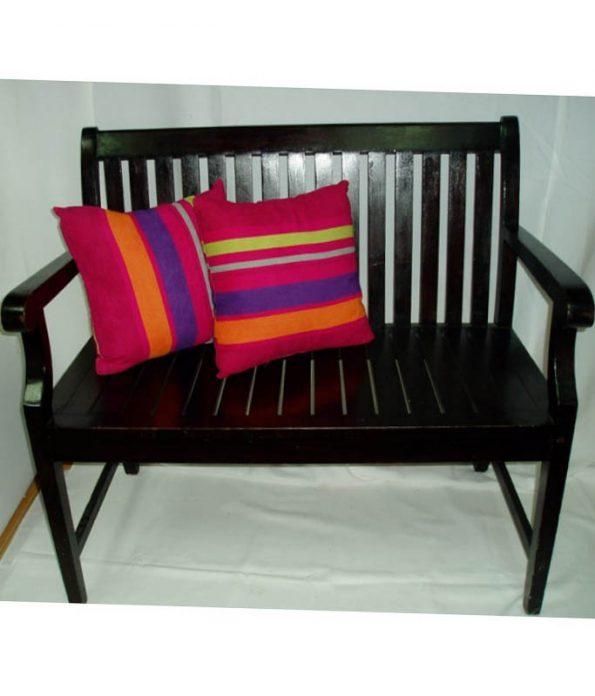 Wooden Love Seat-0
