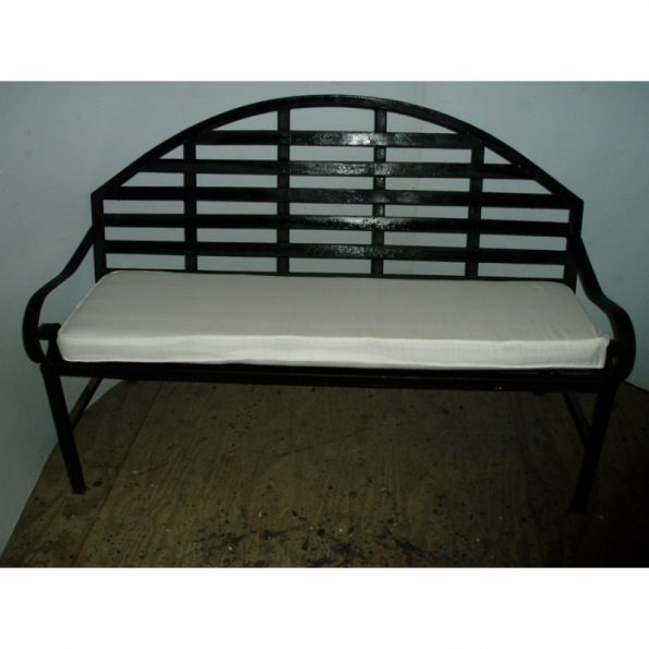 Wrought Iron Love Seat-0