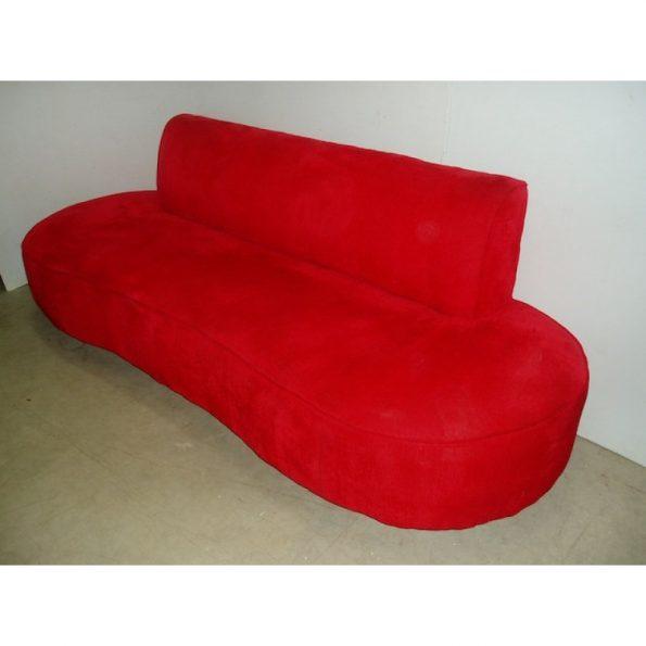 Red Peanut Sofa -0