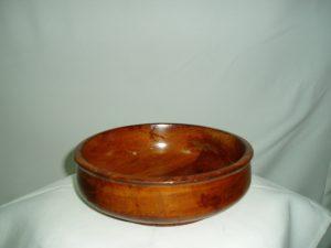 Wooden Round Sauce Bowl (Medium)-0
