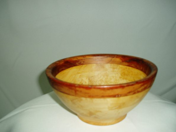 Wooden Round Sauce Bowl (Small)-0