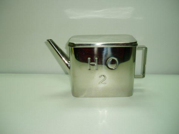 Stainless Steel H2O Rectangular Water Jug-0