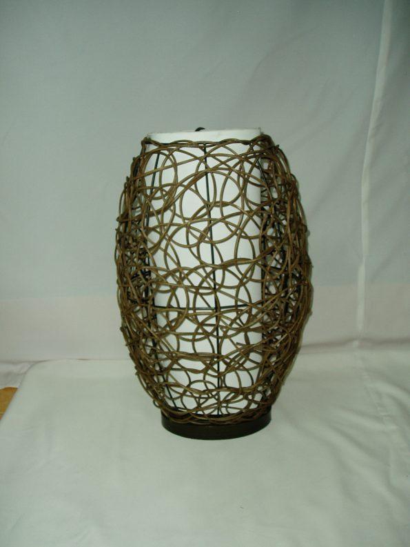 Wicker Lamp-0