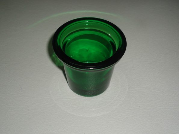 Green Tealite Candle Holder-0