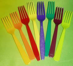 Disposable Forks (Assorted)-0