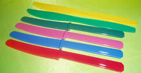 Disposable Knives (Assorted)-0