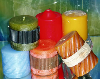 Assorted Short Candles -0