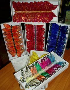 Multi Coloured Decorative Butterflies-0