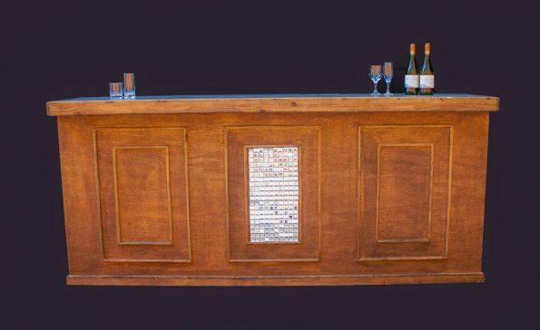 Tuscan Bar Counter w/ Mosaic
