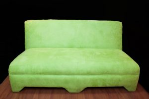 3 Seater Lime Green Sofa-0