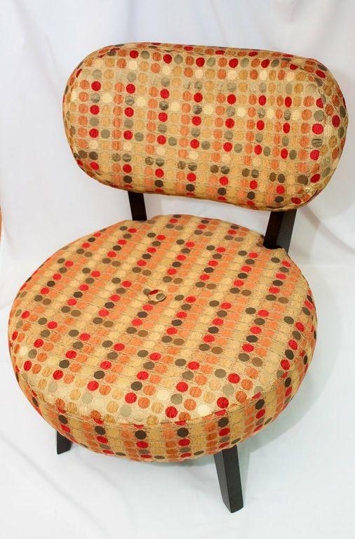 Miami Hot Spot Polkadot Padded Chair-0