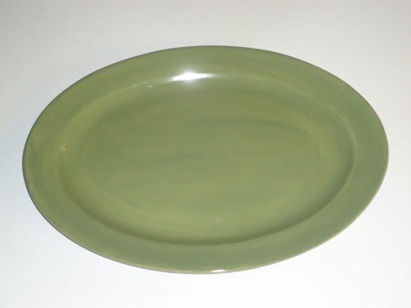 Olive Green Platter-0