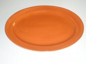 Burnt Orange Platter-0