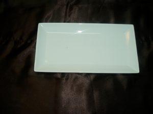 White Rectangular Platter (Large)-0