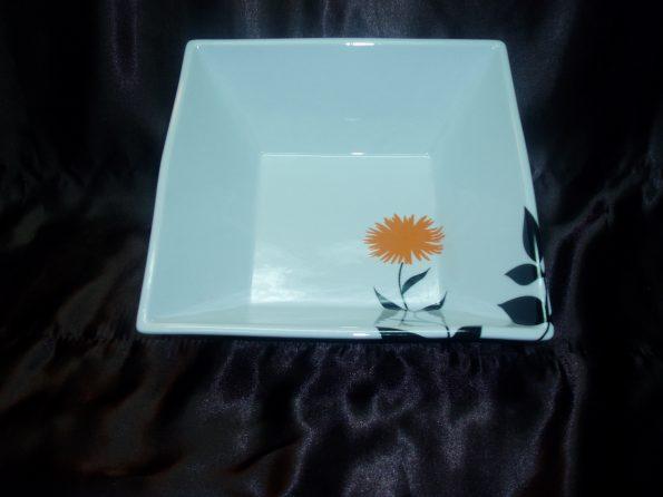 Floral Square Salad Bowl-0