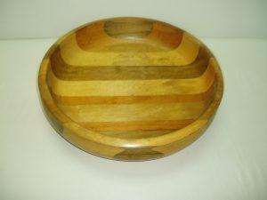 Mahoe Wooden Salad Bowl (Medium)-0