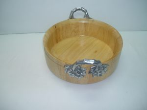 Wooden With Pewter Handles-0