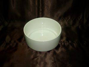 Ceramic Round White Sauce Bowl-0