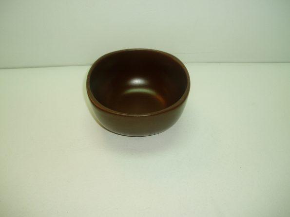 Brown Ceramic Sauce Bowl-0